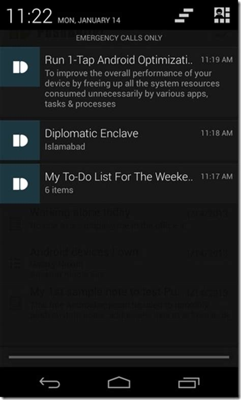 android push notifications send content from web to android as notifications using