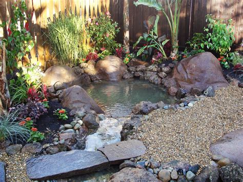 backyard water feature diy outdoor water features diy shed pergola fence deck