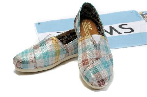 toms wedges comfortable toms wedges women blue plaid comfortable