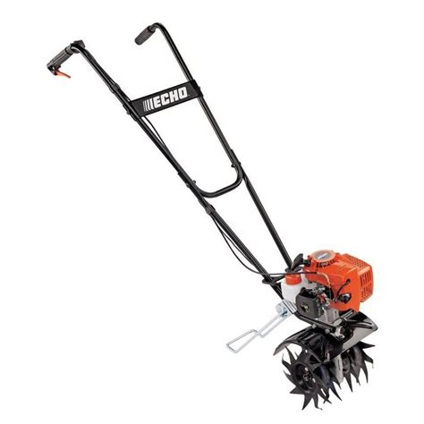 echo tc  cultivator tiller front tine  rotating