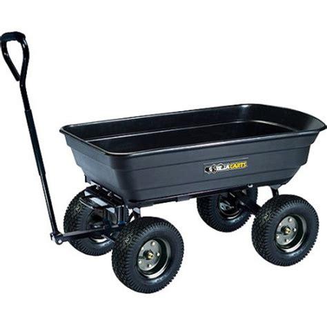 gorilla carts 600 lb capacity garden dump cart walmart