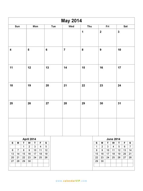 printable calendar 2014 word may 2014 calendar blank printable calendar template in