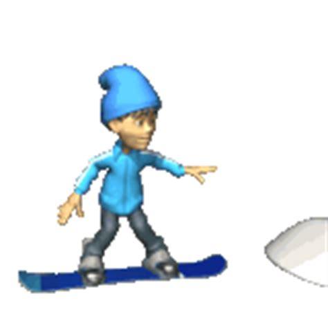 imagenes gif invierno gifs animados de snowboard