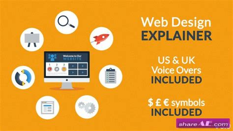 explainer video templates project for after effects videohive web design explainer after effects project videohive