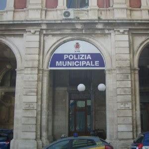 polizia municipale ufficio contravvenzioni le sedi comunali