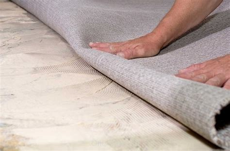 how to lay carpet on concrete the main stages