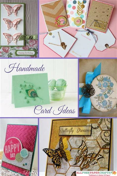 Free Handmade Card Ideas - 45 handmade card ideas how to make greeting cards