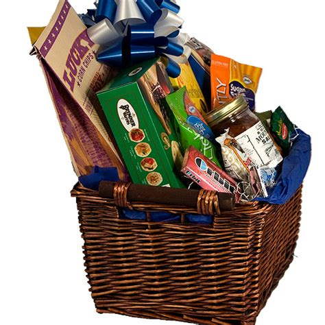 sugar free gift basket sweet and savory healthy food gift