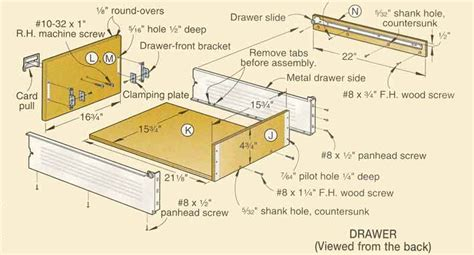 Build A Drawer by Diy How To Build Wood Drawers Plans Free