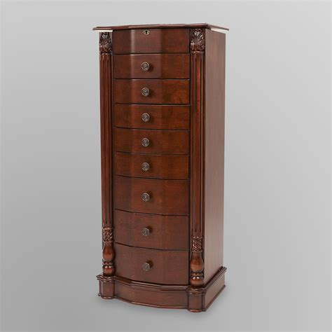 espresso armoire espresso jewelry armoire sears outlet