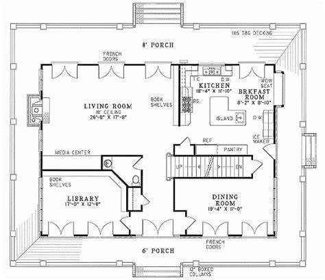 unique country home floor plans wrap around porch new
