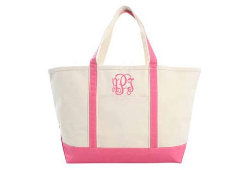 canvas boat and tote bags sturdy coral canvas boat and tote bag