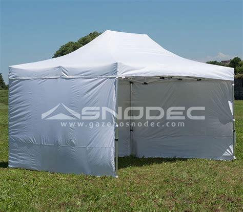 gazebo pieghevole prezzi gazebo pieghevole 4x6 bianco alluminio 50mm prezzo