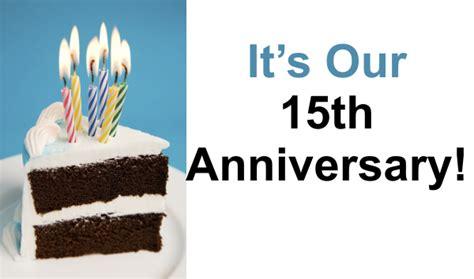 15th anniversary 15th anniversary checkers entertainment