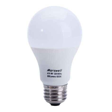 12 Watt Led Light Bulbs 60 Watt E27 A19 A60 Led Light Bulb Cool White 6000 6500k 12 Pack 60w