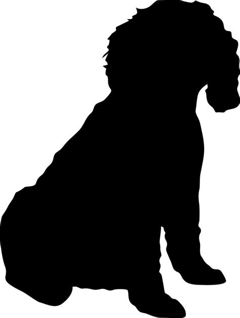 dog silhouette tattoo quot tattoos for cars quot lol this is a cockapoo silhouette