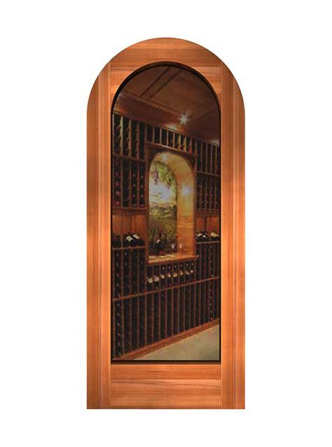 Glass Panel Doors Plain Glass Wine Cellar Innovations Arch Glass Door