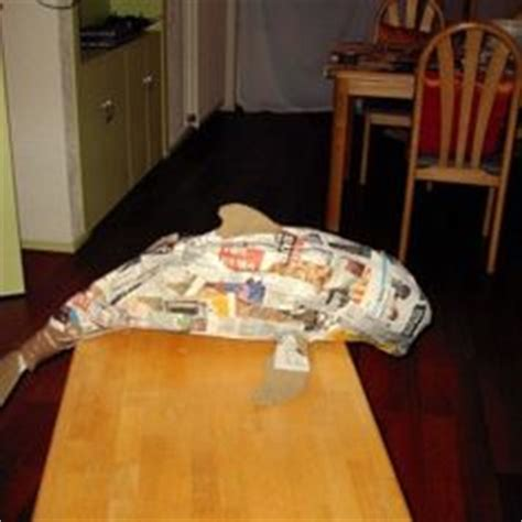 How To Make A Paper Mache Dolphin - 1000 images about dolphin unit on dolphins