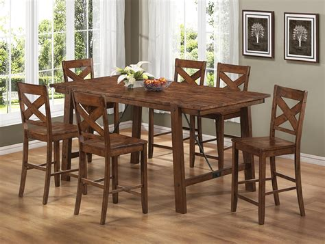 Counter Height Dining Room Table Sets by Lawson Rectangular Counter Height Dining Room Set