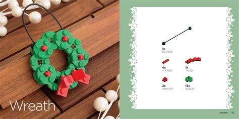 lego christmas ornaments book no starch press