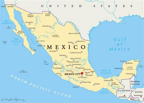 map of mexico major cities the major cities in mexico highlight its diversity and
