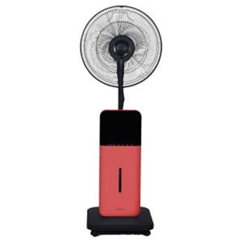 misting fan home depot 18 in oscillating ultrasonic dry misting fan with