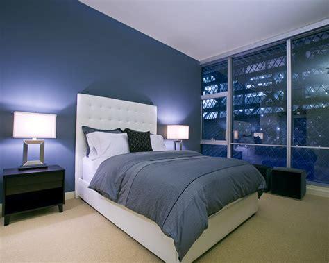 desain kamar warna biru desain kamar tidur minimalis warna biru penuh kreasi dan