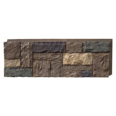 nextstone castle rock tuscan brown 15 25 in x 43 25 in