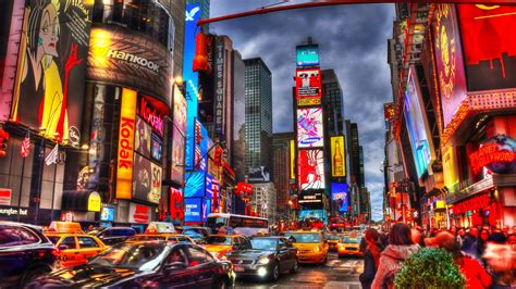 imagenes 4k new york times square in manhattan new york city 4k ultra hd fondo