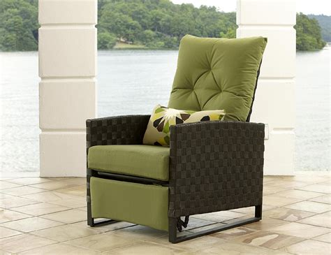 sears lazy boy recliner la z boy outdoor karson recliner shop your way online