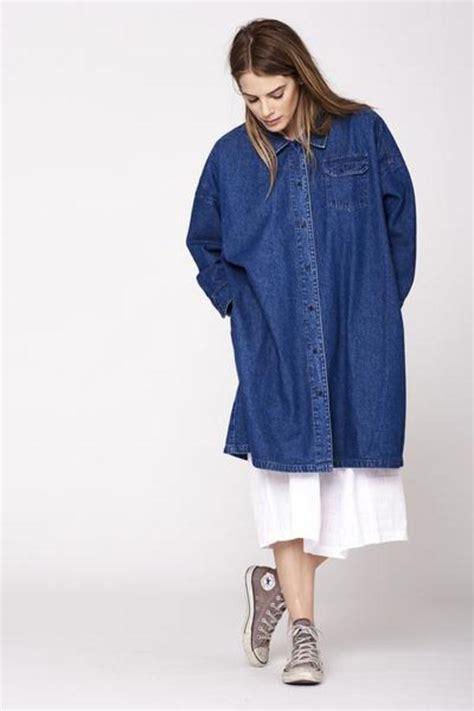 Nena Oversized Jacket lacausa nena denim jacket garmentory