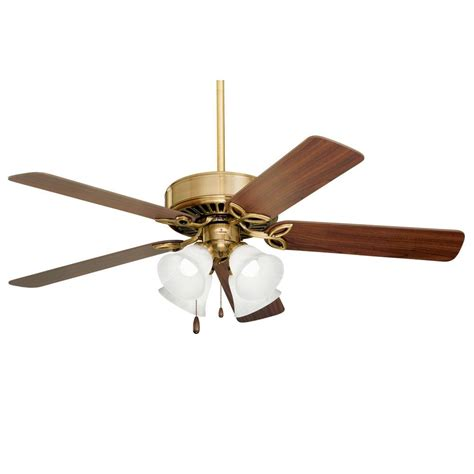 Zephyr Ceiling Fan illumine zephyr 50 in antique brass indoor incandescent