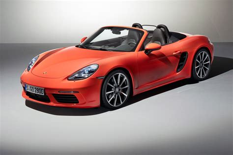 porsche boxster 2016 boost or bust turbocharged 2016 porsche 718 boxster
