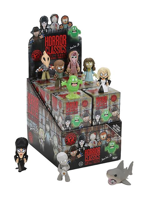 funko pop vinyl figures mystery minis hot topic funko horror classics series 3 mystery minis blind box