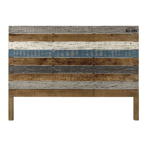 Wood Board Headboard by Mango Wood Board 160cm Headboard Sailor Maisons Du Monde