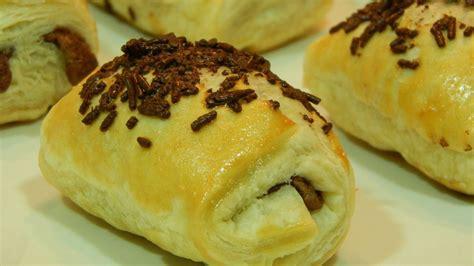 cocinar con hojaldre recetas faciles receta f 225 cil napolitanas de chocolate recetas de cocina
