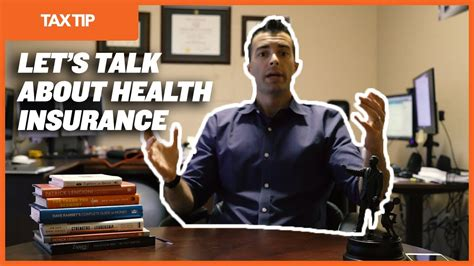 tax tip  employed health insurance deduction youtube