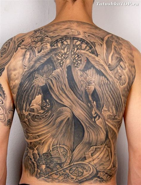 tattoo at back probably the most badass back tattoo i ve ever seen oh