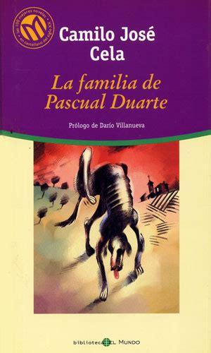 libro la familia de pascual rese 241 a del libro la familia de pascual duarte de camilo jos 233 cela por marta zarza coca 2 186