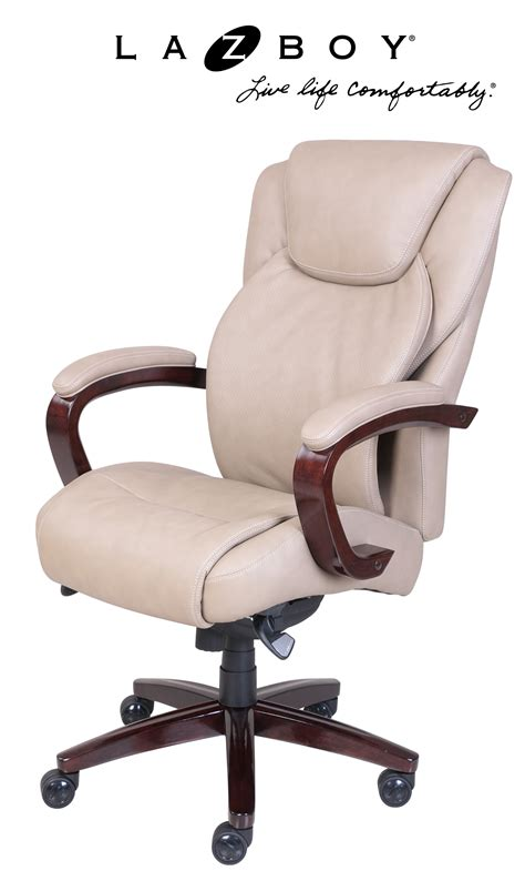 la z boy desk chair office depot la z boy linden comfort core traditions air technology