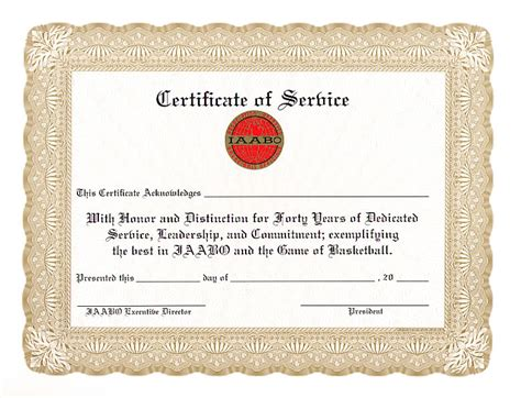 certificate for years of service template 5 years of service certificate template choice image