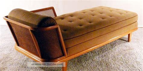 bett 50er jahre stil 30er recamiere deco daybed chaiselonge canape sofa