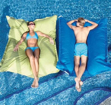 king pool float is a water friendly beanbag