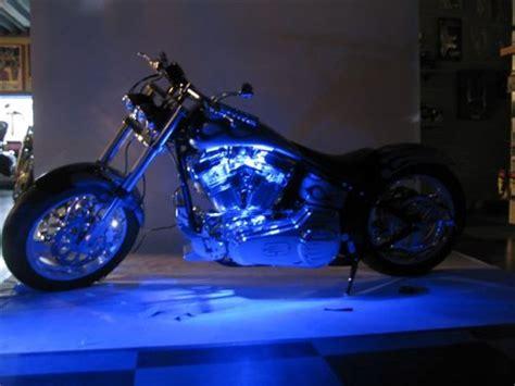 fatboy l dubai blue led neon motorcycle lighting kit buy online in uae