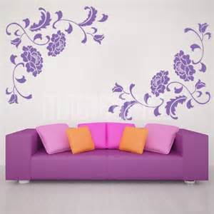 Wall Stickers Canada Wall Decals Floral Peony Wall Stickers Canada