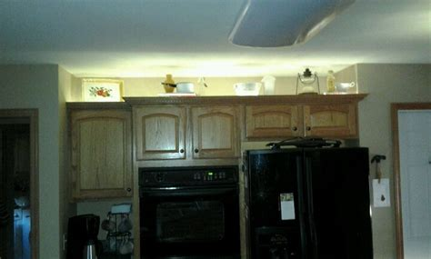 Rope Lights Above Cabinets In Kitchen Pin By Schroedl On Decorating