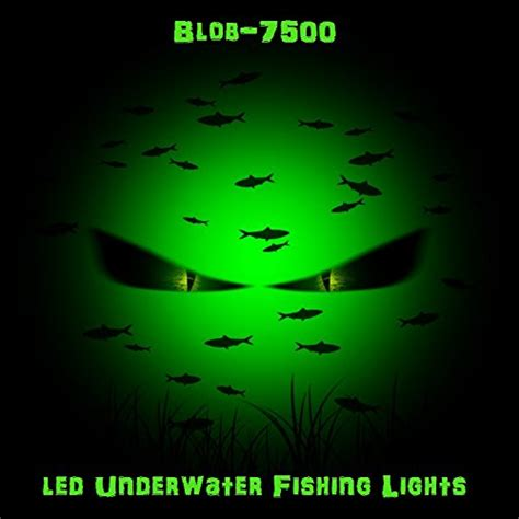 green blob fishing light reviews the green blob 7500 led night florescent underwater