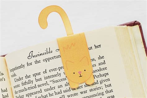 printable magnetic bookmarks free printable kitty with diy magnetic bookmark
