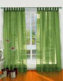 Window curtain white color