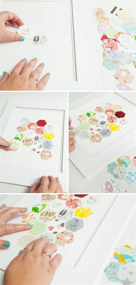 awesome wedding card keepsake frame